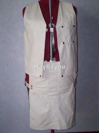 Heren rok met bijpassend vest