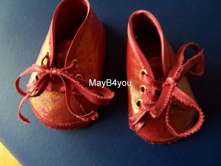 Babyschoentjes Rood