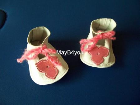 Babyschoentjes rose